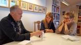 Richard Stephens, Sigurborg, Helga Pálína