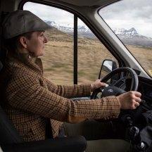 Í öruggum höndum! | Our dedicated driver: Anna Snædís